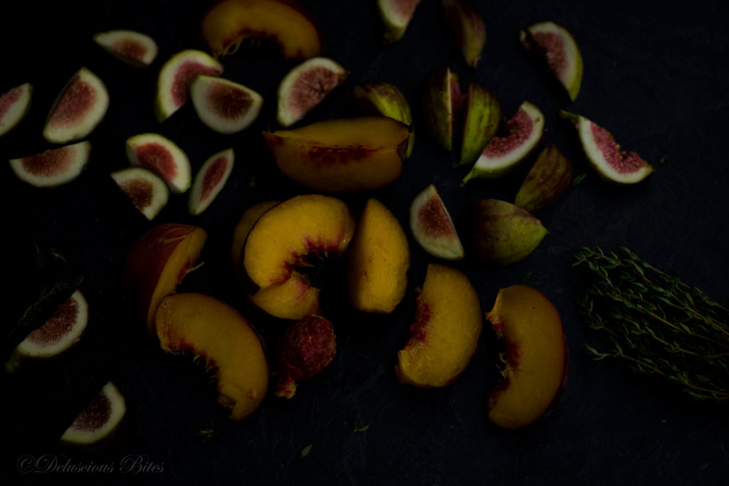 Peaches & Figs for Galette 1
