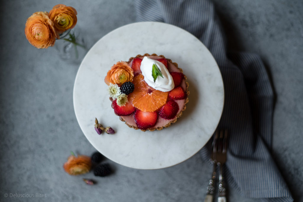 Tart (strawberry greek yogurt) 1